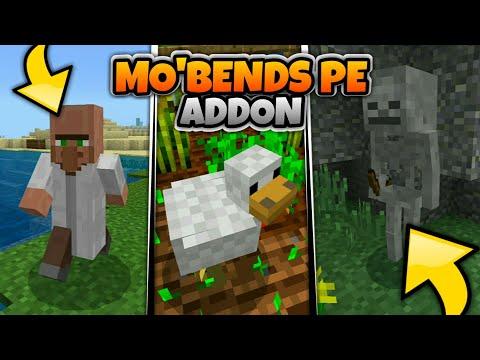 Akhirnya Ada MO'BENDS Di Mcpe 1.8 Terbaru!