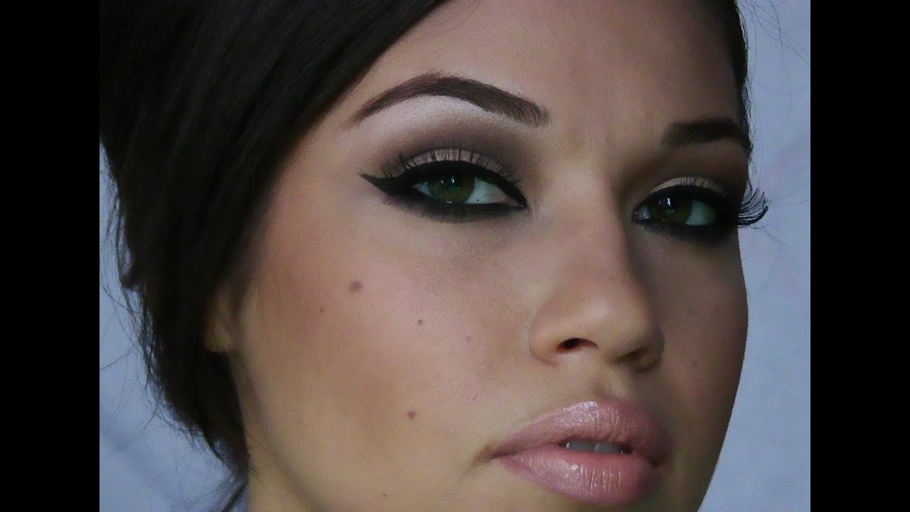 Adele Inspired Makeup Tutorial Eman Youtube