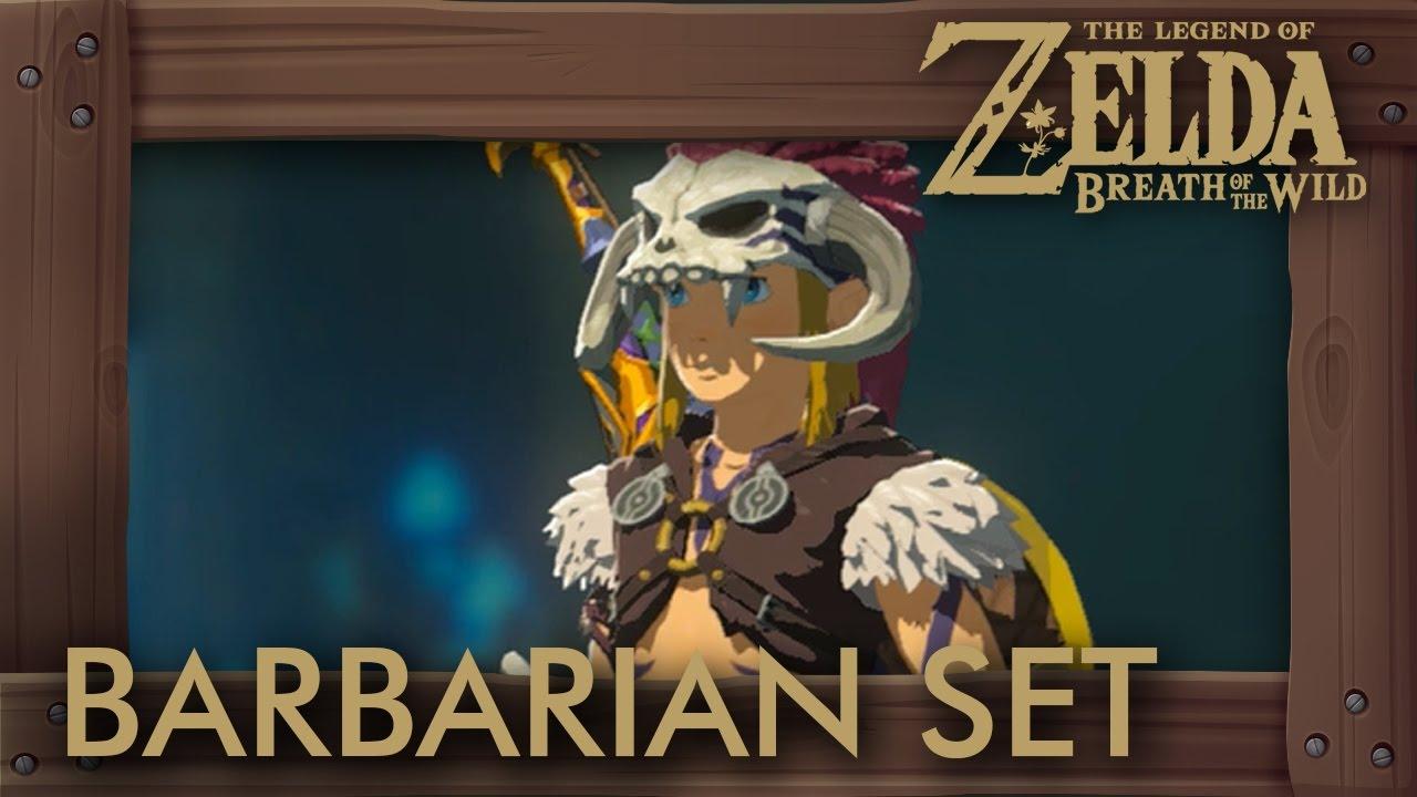 Zelda Breath Of The Wild Barbarian Set Location Attack