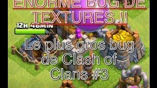 Le plus gros bug de Clash of Clans #3 BÂTIMENTS LES UNS SUR LES AUTRES