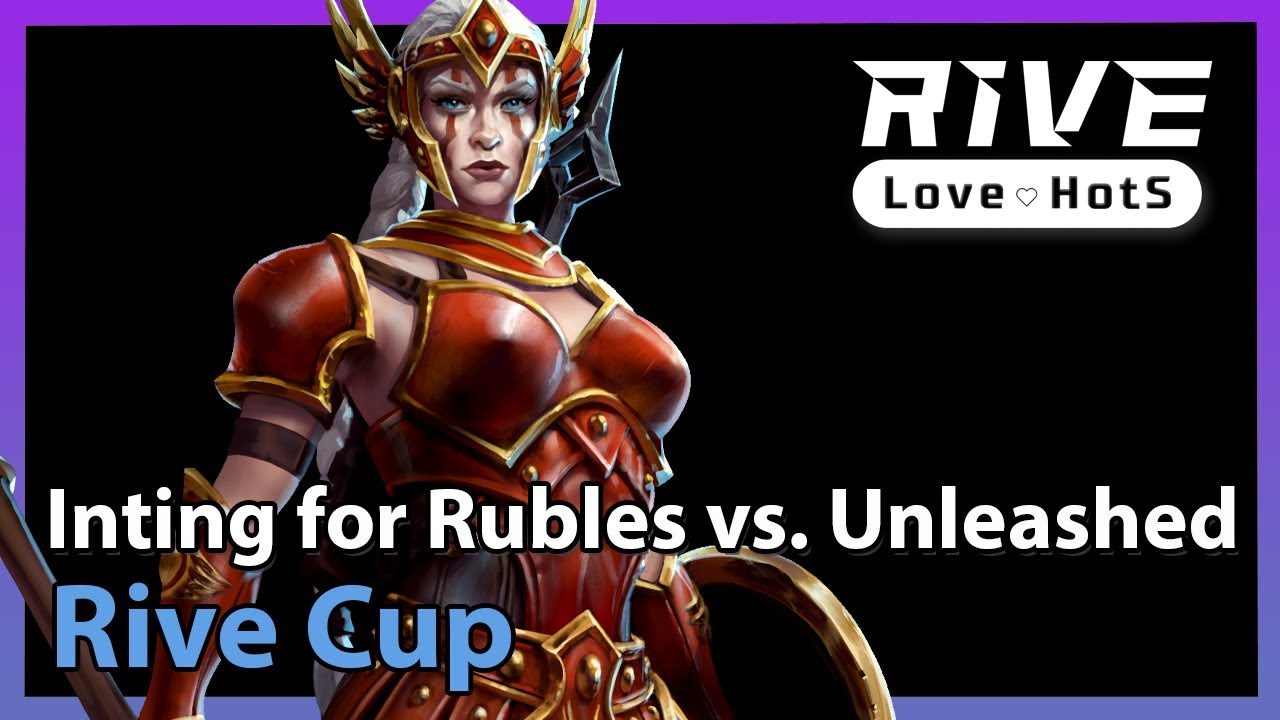 Inting for Rubles vs. Unleashed - Heroes of the Storm 2021
