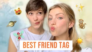BEST FRIEND TAG *I visit my best friend in NYC and we get sensitive*