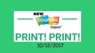 Coupons to Print Now!! 10/15