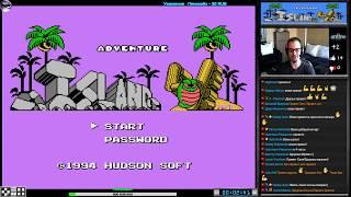 Скачать Adventure Island IV прохождение J Игра Dendy Nes Famicom 8 Bit Hudson Soft 1994 Стрим RUS
