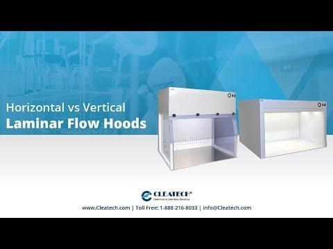Horizontal vs Vertical Laminar Flow Hoods