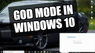 Windows 10 Tips and Tweaks PT 2: God Mode
