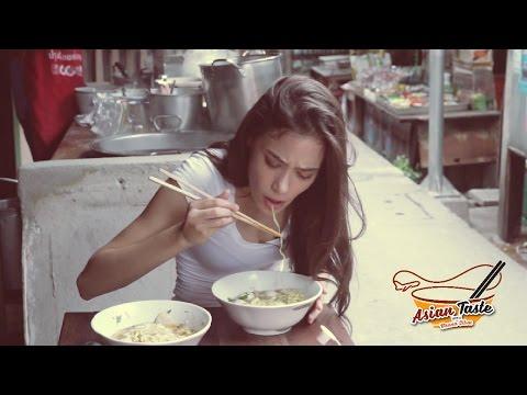Noodle Shop in Thai village | Thai Street Food ร้านหยุดบ่อย | Asian Taste