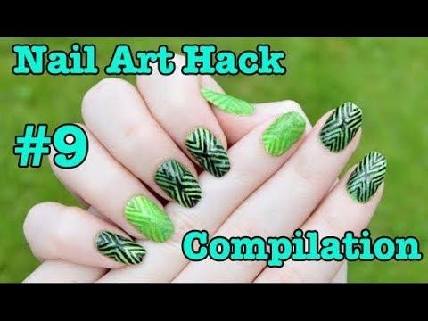 Nail Art Hack Compilation 9 Best Nail Art Tutorial November 2017
