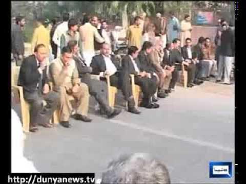 Dunya News-FAISALABAD LAWYERS DHARNA