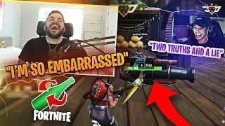 FORTNITE SPIN THE BOTTLE?! HOW DID THIS HAPPEN?! (Fortnite: Battle Royale)