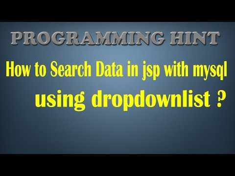 HOW TO FILL MULTIPLE DROPDOWNLIST IN JSP AND SERVLET WITH