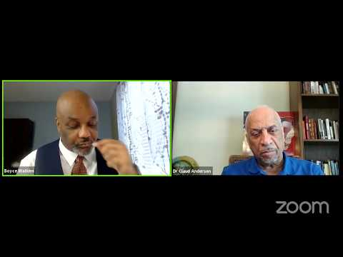 How black leadership can be destructive - Dr Boyce & Dr Claud Anderson