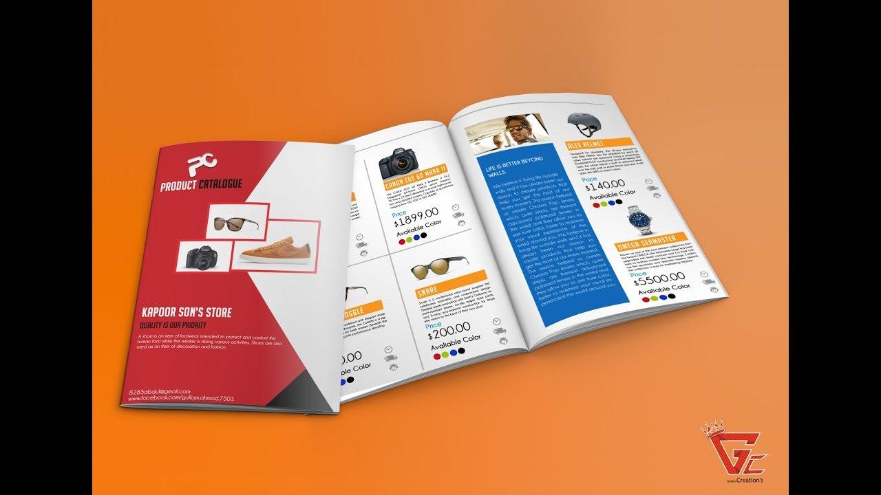 Thiết kế catalog với Adobe Photoshop