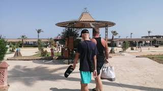 Дорога на пляж Ali Baba palace 4 Египет Хургада