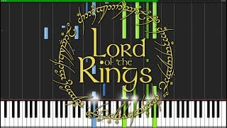 May it Be - The Lord of the Rings [Piano Tutorial] (Synthesia) // Wouter van Wijhe