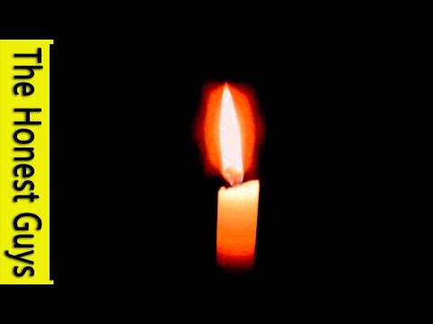 8 HOURS CANDLE WITH OCAN WAVE SOUNDS for Sleep Insomnia Study or Relaxation