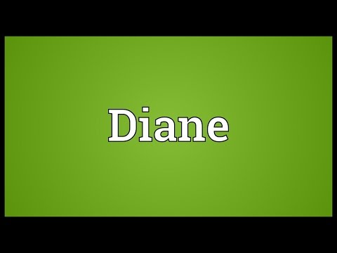 Diane Meaning