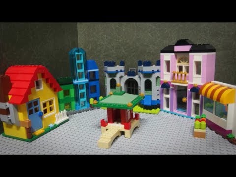Lego Classic 10703 Creative Builder Box Stop Motion Build - YouTube