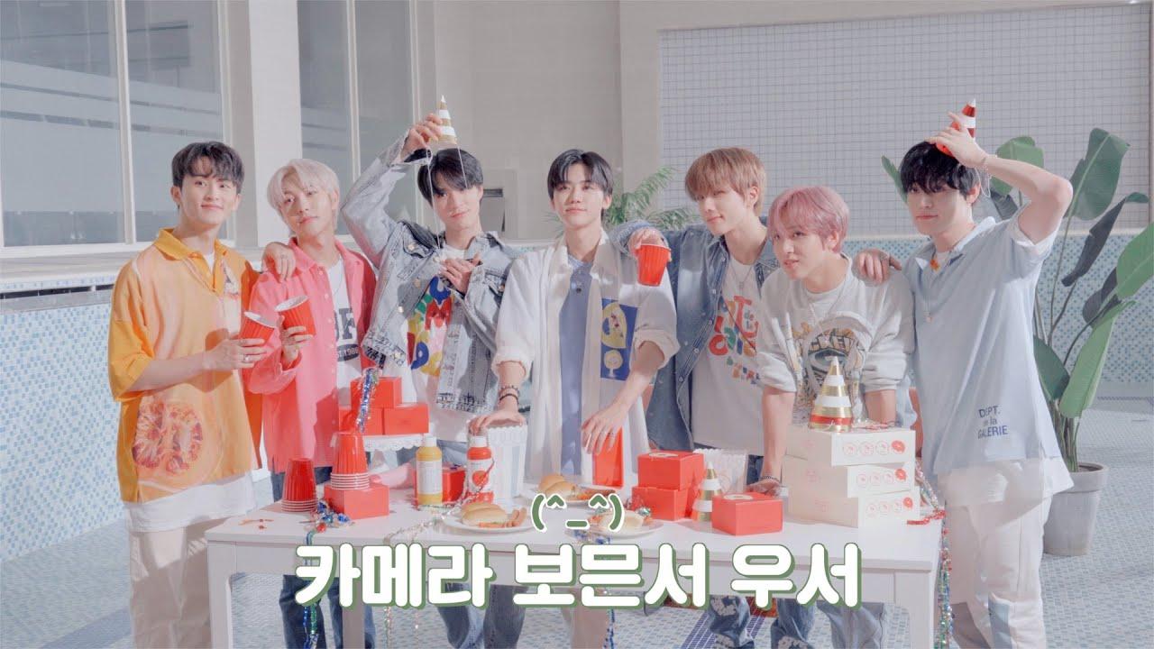 얘들아 카메라 보믄서 우서^_^ㅣBeyond LIVE - NCT DREAM ONLINE FANMEETING - 'HOT! SUMMER DREAM' VCR Behind