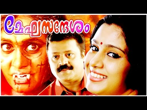Super Hit Malayalam Full Movie | MEGASANDESHAM | Suresh Gopi | Horror Film: Super Hit Malayalam Full Movie | MEGASANDESHAM | Suresh Gopi | Horror Film  Directed by Rajasenan Produced by K. Radakrishnan Written by Satheesh Poduval M. Sindhuraj Starring Suresh Gopi Samyuktha Varma Rajshri Nair Napoleon Narrated by Rajasenan Music by M. G. Radhakrishnan Ouseppachan (Background score) Cinematography Venu (cinematographer) Edited by A. Sreekar Prasad Release dates April 2001 This film was a Sleeper Hit