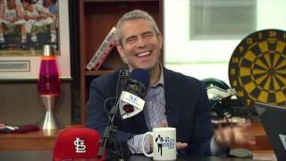 "Host Andy Cohen of ""Andy Cohen's Then & Now"" on HIs Love For The Cardinals - 5/10/17"