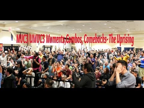 MVC3/UMVC3 Moments,Combos, Comebacks Hype Compilation- The Uprising