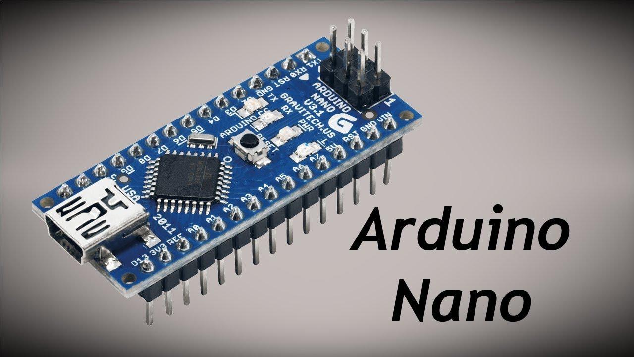 f5287352faa Todo Sobre Arduino Nano - YouTube
