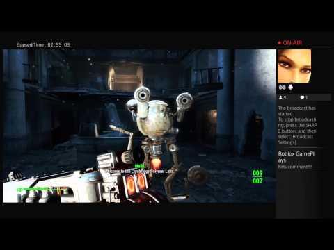 [PS4] Fallout 4 exploring - live stream