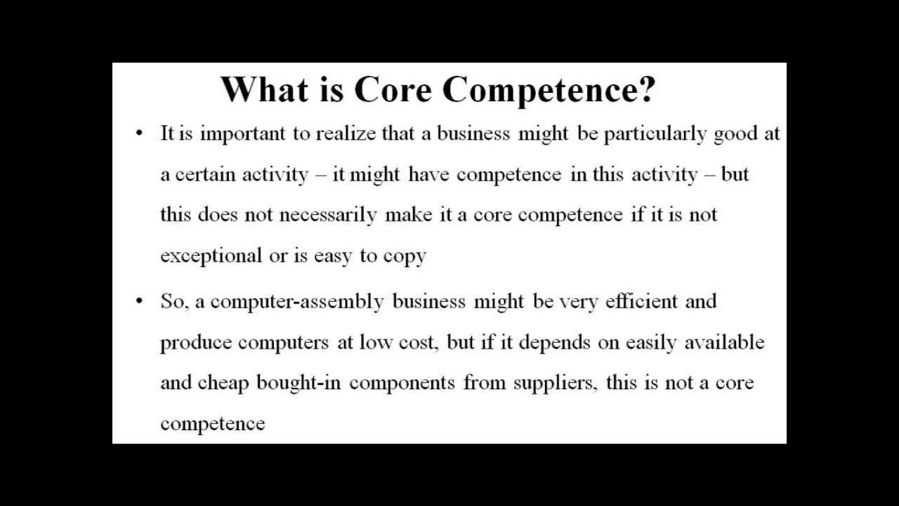 The Definition of Competencies and Their Application at NU