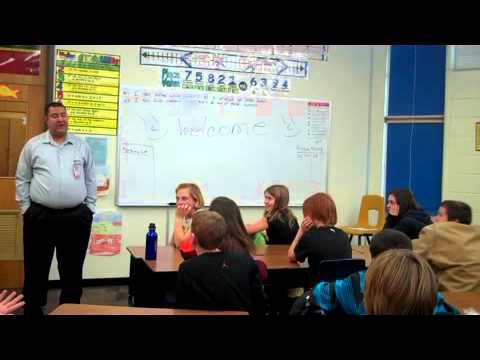 Visit to Meadow Hill Middle School, Missoula, MT