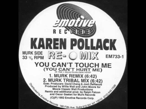 Karen Pollack - You Can't Touch Me (You Can't Hurt Me) (Murk
