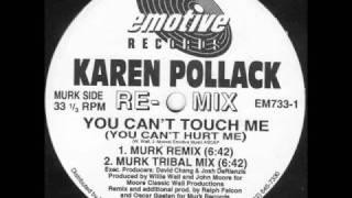 Karen Pollack - You Can