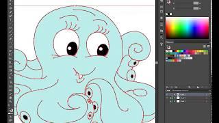 Курсы Adobe Illustrator сделал домашнее задание.