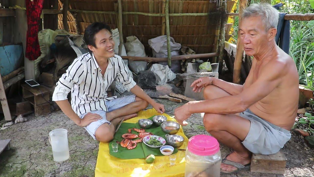 Ngày Giông Gió Dữ Dội Về Ngoại Vườn Rau Ao Cá Đầy Đủ Không Lo Bị Thiếu