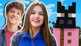 Minecraft: DOIS FÃ CLUBES SE JUNTARAM PARA FAZER ISSO PARA MIM!