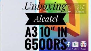 "Unboxing Alcatel A3 10"" Flipkart Big Billion Days in 6500"