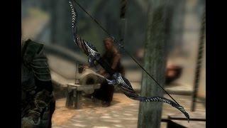 Как достать Эбонитовый лук в начале игры в (The Elder Scrolls V: Skyrim)