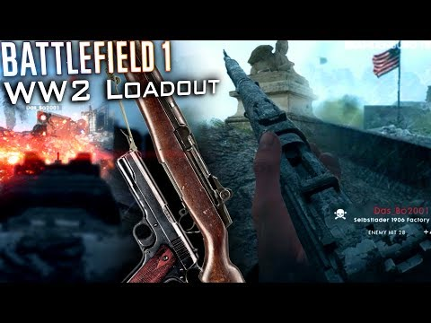 """M1 Garand"" American WW2 Loadout 