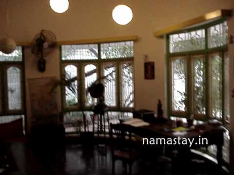 A Colonial stay Guest House designed by a French architect on www.namastay.in