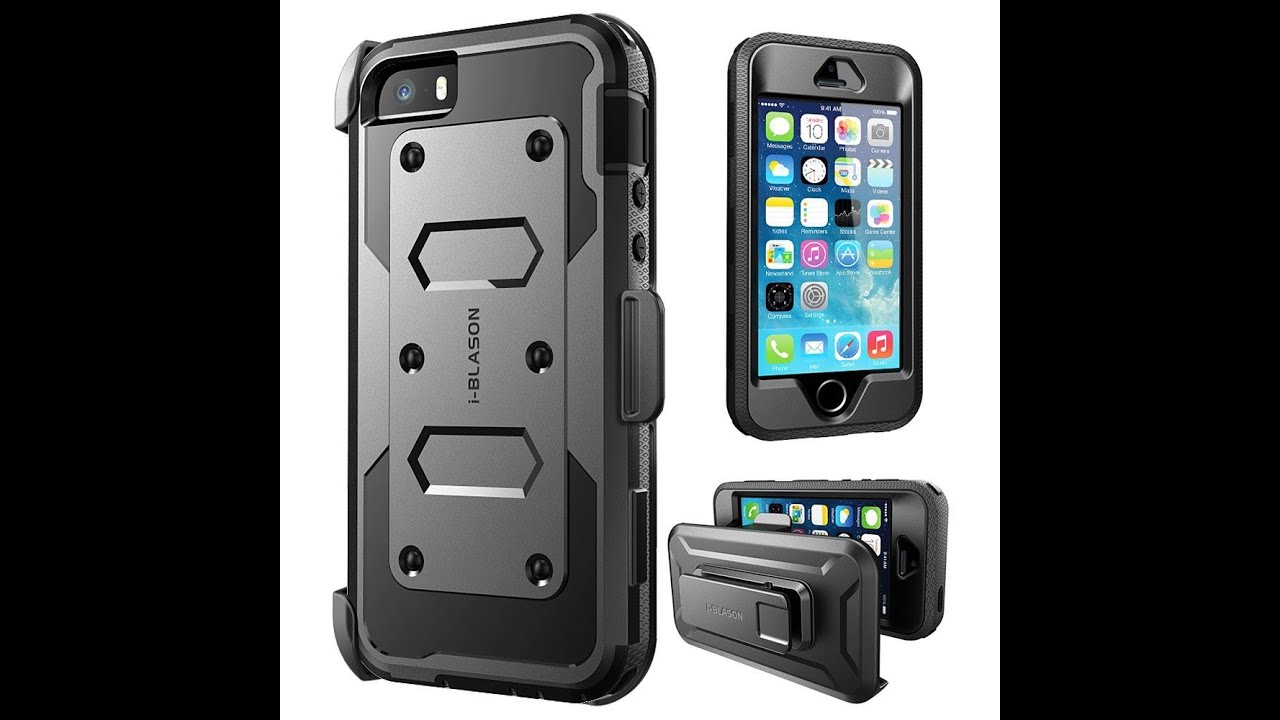 best loved 2a08b 41c60 iPhone SE Armorbox & Fully-Body Rugged Supcase Protective Case Cover (2016)