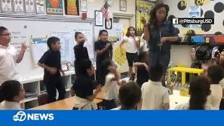 Teacher inspires students by singing Lizzo's 'Truth Hurts'
