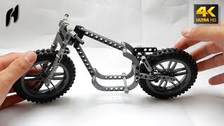 Lego Technic Motorcycle Frame (My Own Design - 4K)