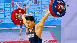2021 Asian Championships Men's 96kg Tian Tao