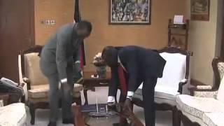 President Uhuru visits Deputy President Ruto's office