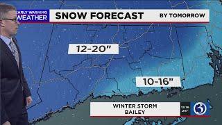 FORECAST: Snow forecast inches upward