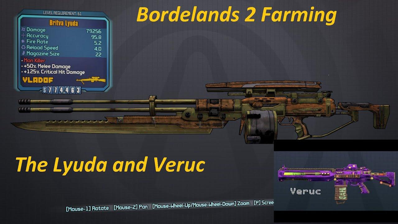 Farming lyuda borderlands