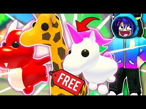 How To Get Free Legendary Pets In Roblox Adopt Me New Update Youtube