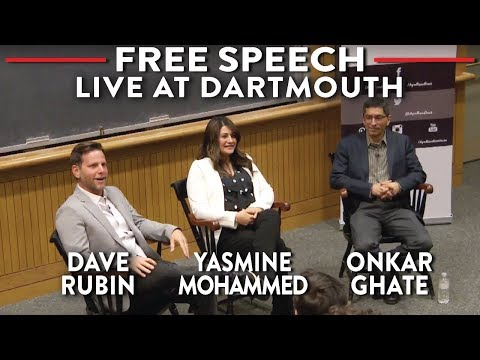 LIVE at Dartmouth: Dave Rubin, Yasmine Mohammed, Onkar Ghate on the Frontlines of Free Speech