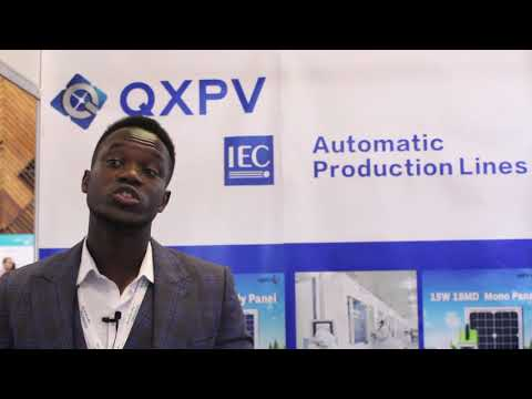 Ningbo Qixin Solar Electrical Appliance at Future Energy East Africa 2018