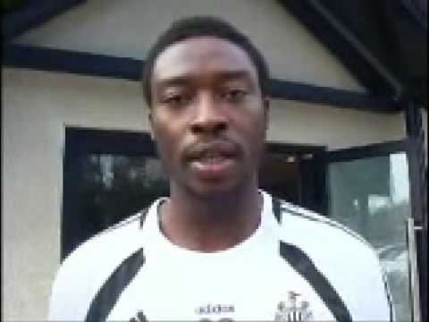Shola Ameobi has a few things to get off his chest.